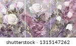 white rose. collection of... | Shutterstock . vector #1315147262