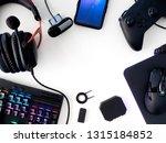 streaming games concept  top... | Shutterstock . vector #1315184852