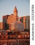 Custom House Tower And Boston...