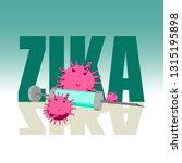 abstract virus image on...   Shutterstock .eps vector #1315195898
