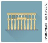 Aqueduct Of Segovia  Spain ...