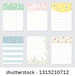 design elements for notebook ... | Shutterstock .eps vector #1315210712