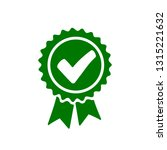approval check icon  quality... | Shutterstock .eps vector #1315221632