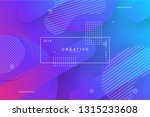 abstract form composition cool... | Shutterstock .eps vector #1315233608