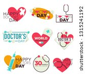 medicine doctors day isolated... | Shutterstock .eps vector #1315241192