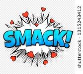 Smack Comic Word. Cartoon Pop...