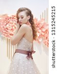 beautiful bride in an expensive ... | Shutterstock . vector #1315245215