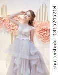 beautiful bride in an expensive ... | Shutterstock . vector #1315245218