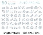 set of vector line icons of... | Shutterstock .eps vector #1315263128