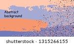 trendy multicolored stripes... | Shutterstock .eps vector #1315266155