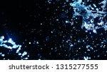 blue water splash on dark... | Shutterstock . vector #1315277555