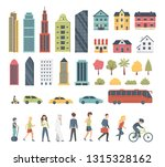 city constructor elements in... | Shutterstock .eps vector #1315328162