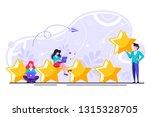 vector illustration on white... | Shutterstock .eps vector #1315328705