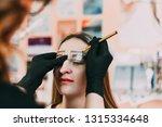 microbleeding eyebrow... | Shutterstock . vector #1315334648