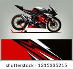 sport bike livery design....   Shutterstock .eps vector #1315335215