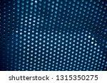 isolated blueish metallic... | Shutterstock . vector #1315350275