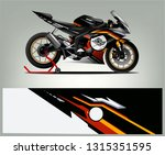 sport bike graphic vector.... | Shutterstock .eps vector #1315351595