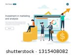 business concept of investment... | Shutterstock .eps vector #1315408082