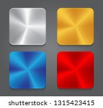 cards with metal background.... | Shutterstock .eps vector #1315423415