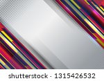 abstract background with stripe ... | Shutterstock .eps vector #1315426532