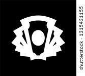 glyph money icon. universal... | Shutterstock .eps vector #1315431155