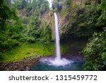 Waterfall In Costa Rica.  La...