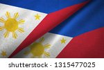 philippines and philippines two ... | Shutterstock . vector #1315477025