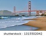 golden gate bridge view from... | Shutterstock . vector #1315502042