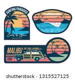 set vintage emblems graphic... | Shutterstock .eps vector #1315527125