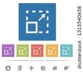 maximize element flat white...   Shutterstock .eps vector #1315540658