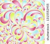 silk texture fluid shapes ... | Shutterstock .eps vector #1315552955