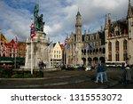 bruges  belgium   october 17 ... | Shutterstock . vector #1315553072
