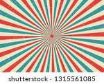retro sunburst and rays comic... | Shutterstock .eps vector #1315561085