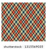 rhombus pattern  tartan plaid ... | Shutterstock .eps vector #1315569035