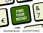 writing note showing find your... | Shutterstock . vector #1315571492