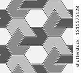 geometrical backdrop.seamless... | Shutterstock .eps vector #1315575128