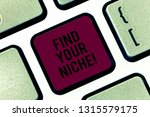 handwriting text find your... | Shutterstock . vector #1315579175