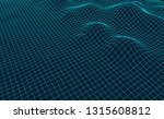 big data visualization. vector... | Shutterstock .eps vector #1315608812