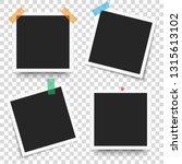 set of template retro frame... | Shutterstock .eps vector #1315613102