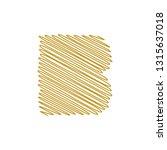 modern trendy b letter unique... | Shutterstock .eps vector #1315637018