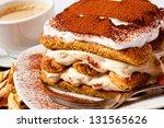tiramisu cake | Shutterstock . vector #131565626