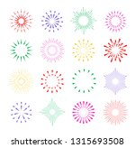 set of hand drawn vintage... | Shutterstock .eps vector #1315693508