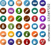 color back flat icon set  ... | Shutterstock .eps vector #1315697252