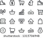 bold stroke vector icon set  ... | Shutterstock .eps vector #1315706948
