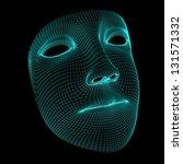 mask | Shutterstock . vector #131571332