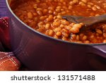 Bubbly Hot Baked Beans  Brown...