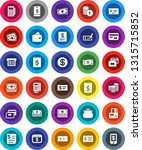 white solid icon set  credit... | Shutterstock .eps vector #1315715852