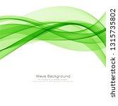 abstract green wave elegant...   Shutterstock .eps vector #1315735802