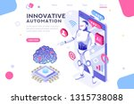colored hi integrated... | Shutterstock .eps vector #1315738088