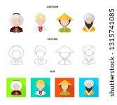 vector illustration of imitator ... | Shutterstock .eps vector #1315741085